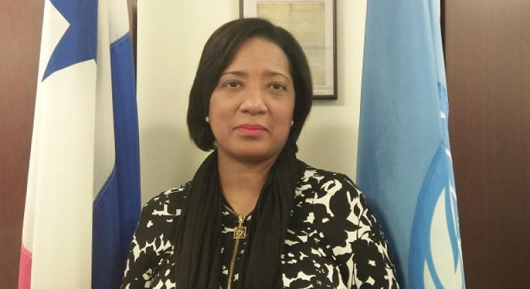 Liriola Leoteau. Directora del Instituto Nacional de la Mujer en Panamá. Foto: Noticias ONU