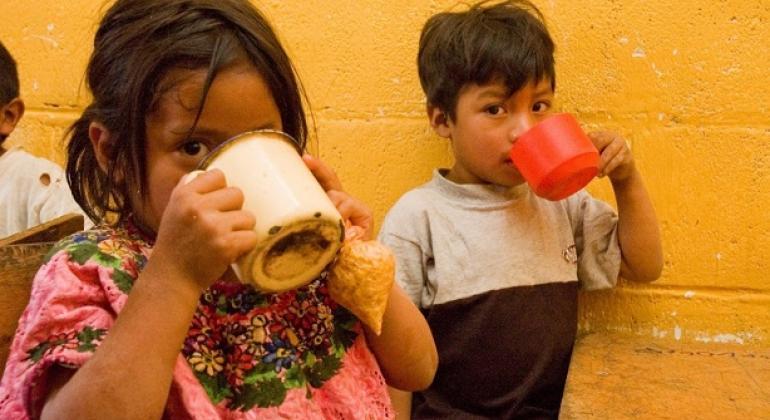 34 millones de personas siguen sufriendo de subnutrición en Latinoamerica, el 47,7 % de los niños menores de 5 años padece anemia y el 49,8 %, aproximadamente 1,3 millones, tiene desnutrición crónica. Foto: PMA