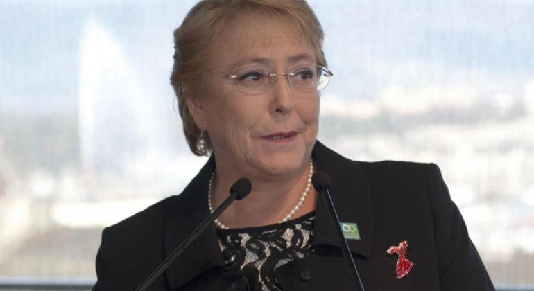 Michelle Bachelet, ex presidenta de Chile.