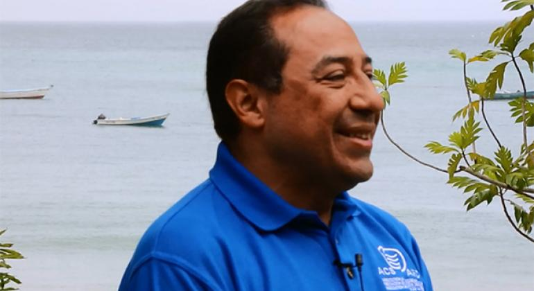 Julio Orozco, director de turismo sostenible de la Asociación de Estados del Caribe.Foto: Noticias ONU.