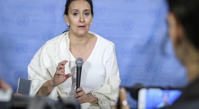 La vicepresidenta de Argentina, Gabriela Michetti.