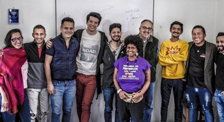 Del 23 al 27 de octubre se realizó en, Cusco, Perú, el IV Encuentro de la Red de Jóvenes Positivos de América Latina y el Caribe (J+LAC). Foto: ONUSIDA