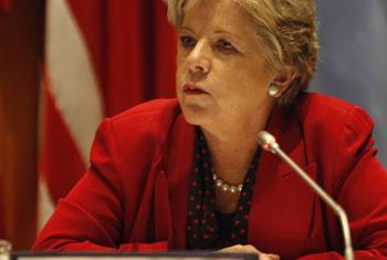 Alicia Bárcena. Foto Carlos Vera/CEPAL.