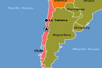 Mapa cartografía de la ONU