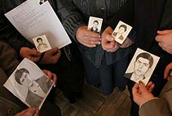 Foto ICRC: Desapariciones Forzosas/Enforced disappearances.