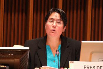 Ministra de Salud de Ecuador, Carina Vance. Foto: OPS
