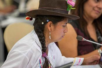 Foto: Conferencia Mundial de los Pueblos Indígenas