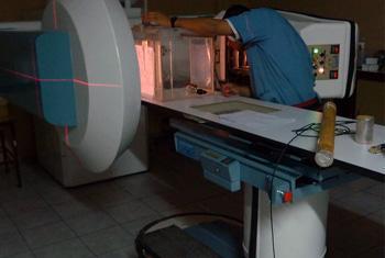 Medicina nuclear. Foto: OIEA / Departamento de Ciencia Nuclear.