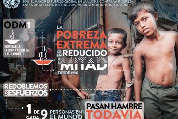 Día Internacional para la Erradicación de la Pobreza. Foto ONU.
