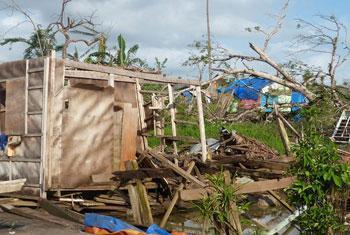 En los últimos 20 años se ha duplicado el número de víctimas de desastres y conflictos. Foto OCHA/Eva Modvig