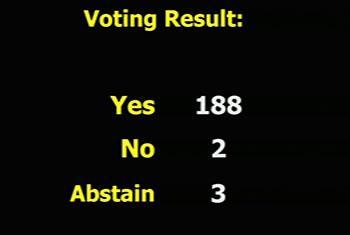 Asamblea General aprueba nueva resolución contra el bloqueo a Cuba. Captura de vídeo. UNTV