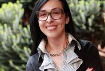Diana Chávez, Directora Centro Regional para América Latina y el Caribe en apoyo al Pacto Mundial. Foto Centro Regional de Apoyo para América Latina y el Caribe