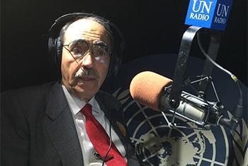 Rubén Zamora, embajador de El Salvador ante la ONU. Foto Rocío Franco