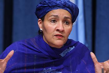 Amina Mohammed. Foto ONU/Devra Berkowitz