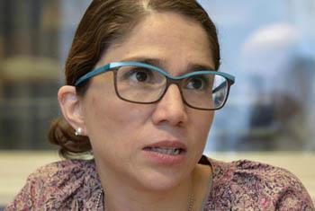 Catalina Davandas Aguilar, relatora de Naciones Unidas sobre los derechos de las personas con discapacidad. Foto ONU/Jean-Marc Ferre