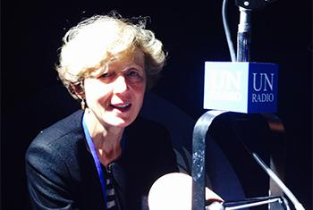 Eva Muller. Foto Radio ONU/Jorge Miyares