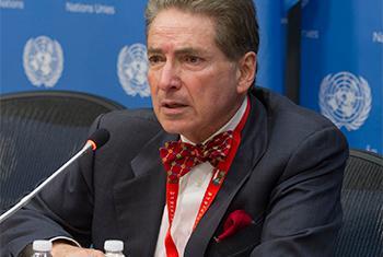 Relator de la ONU sobre la Promoción de un Orden Internacional Democrático y Equitativo. Foto ONU