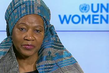 La directora ejecutiva de ONU Mujeres, Phumzile Mlambo-Ngcuka. Foto ONU