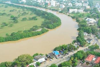 Montería es una de las ciudades que ha demostrado su crecimiento económico aprovechando el potencial hídrico del río el Sinú. Foto: RiverCityForum