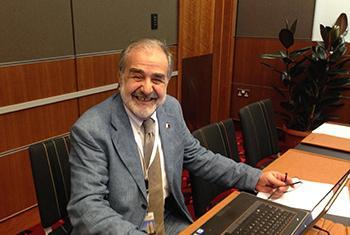 El Doctor Eduardo Vetere. Foto: Radio ONU.