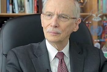 El Subsecretario General de la ONU encargado de las operaciones de Mantenimiento de la Paz, Edmond Mulet. Captura de Video.