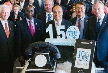 La UIT celebró sus primeros 150 años, reconociendo a cinco personajes que han transformado al mundo. Foto: UIT.