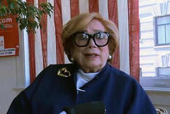 La ex traductora Ellen Magnin Newman. Foto ONU.