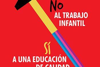 La OIT enfatiza el rol de la educación en este Día Mundial contra el Trabajo Infantil. Imagen: OIT.