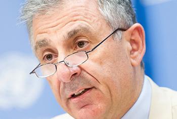 Jean Paul Laborde, director ejecutivo del Comité del Consejo de Seguridad de la ONU contra el Terrorismo. Foto ONU: Mark Garten.