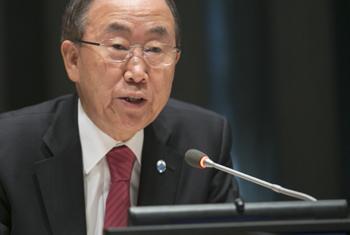 Ban ki-moon. Foto ONU: Rick Bajornas.