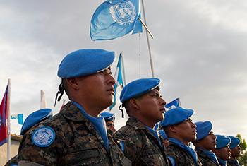 Operaciones de paz. Efectivos de la MINUSTAH. Foto ONU: Logan Abassi