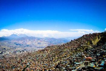 La Paz, Bolivia. Foto: Pablo Poeta/ONU-Habitat.