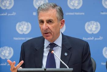 El responsable de la Dirección Ejecutiva contra el Terrorismo del Consejo de Seguridad de la ONU, Jean Paul Laborde. Foto ONU / Eskinder Debebe.