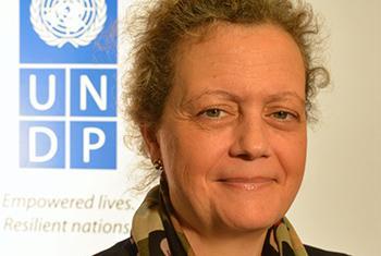 Paloma Durán, Directora del Fondo de Objetivos de Desarrollo Sostenible del PNUD. Foto: PNUD