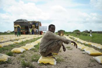 Más de 60 millones de personas entre las más pobres y vulnerables del mundo se encuentran afectados por sequías, inundaciones y otros fenómenos meteorológicos extremos agravados por el Fenómeno el Niño. Foto de archivo: ONU/Tobin Jones