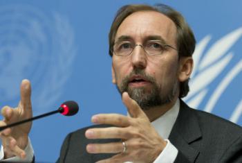 El Alto Comisionado de la ONU para los Derechos Humanos, Zeid Ra'ad Al Hussein.