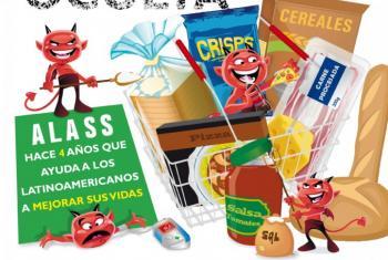 Afiche de la OPS en la Semana Mundial de Sensibilización sobre la Sal