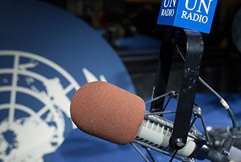 Estudio de Radio Onu. Foto: ONU