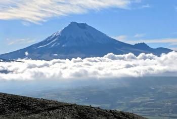 El volcán Cotopaxi. Foto: Wikimedia Commons.