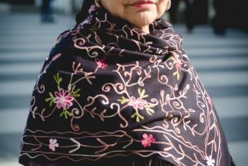 Tarcila Rivera Zea, una indígena quechua del Perú, es una renombrada activista por los derechos de esos pueblos. Foto: Rocío Franco/Radio ONU.
