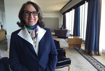 La secretaria general iberoamericana Rebeca Grynspan participó en la sede de Naciones Unidas en un debate sobre cómo combatir la desigualdad en el mundo. Foto: Radio ONU/Carlota Fluxá