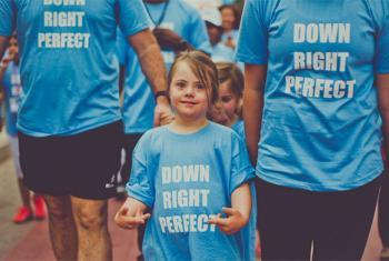 Desde hace 11 años, la ONU conmemora el Día Mundial del Síndrome de Down cada 21 de marzo. Foto: Twitter de Naciones Unidas
