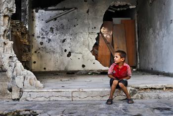 Unos 3,7 millones de niños en Siria se han visto directamente afectados por los cinco años de guerra. Foto: PMA/Abeer Etefa.