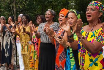 Mujeres indígenas en Panamá. Foto: ONU Mujeres