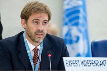 El experto independiente de la ONU sobre Deuda Externa y Derechos Humanos, Juan Pablo Bohoslavsky. Foto ONU/Jean-Marc Ferré.