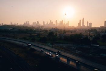 Ciudad de Panamá. El 80% de la población de América Latina vive en ciudades. Foto: Rocío Franco/Radio ONU.