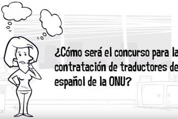 El 28 de junio Naciones Unidas convoca el examen para traductores de español. Foto: ONU