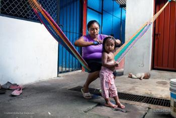Migrantes en Tapachulas, México. Foto: ACNUR/Markel Redondo.