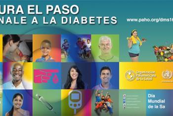 Imagen promocional de la Organización Panamericana de la Salud (OPS) por el Día Mundial de la Salud 2016.
