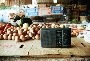Las radios comunitarias son fundamentales para dar voz a los que no la tienen. Foto: Rocío Franco/Radio ONU.